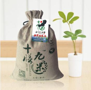 十膳九米五常稻花香米  稻花香2号   亚麻袋装 10斤装