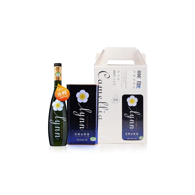 润农 灵犀天然野生山茶油1.3L+600ml 礼盒装