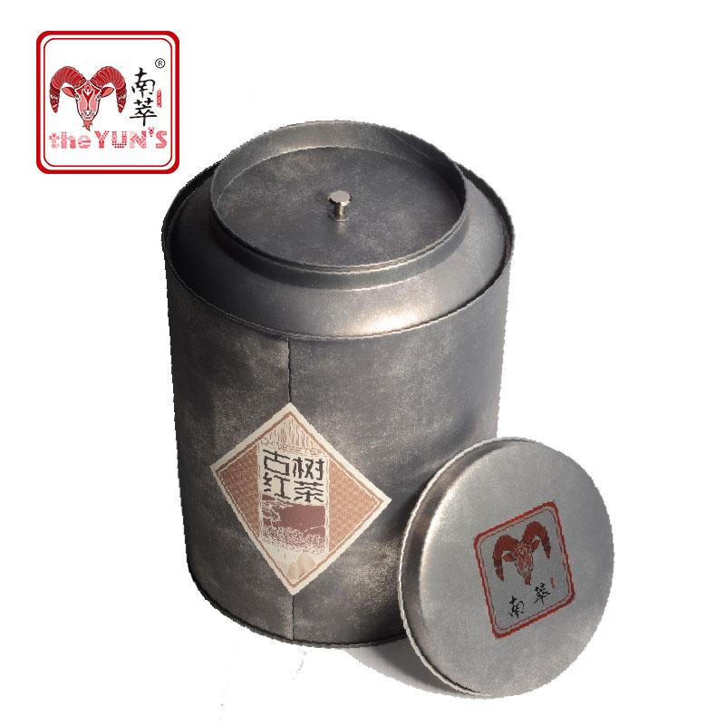 南崒云南古树红茶800g 圆桶